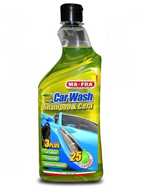 CAR WASH SHAMPOO & WAX